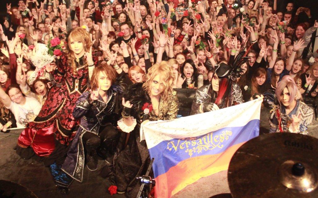 Versailles Official Twitter EU tour Moscow